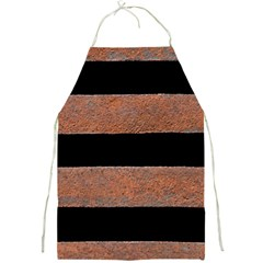 Stainless Rust Texture Background Full Print Aprons