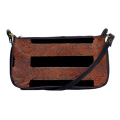 Stainless Rust Texture Background Shoulder Clutch Bags