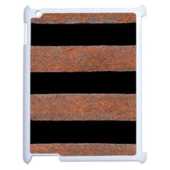 Stainless Rust Texture Background Apple Ipad 2 Case (white)