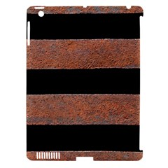 Stainless Rust Texture Background Apple Ipad 3/4 Hardshell Case (compatible With Smart Cover)