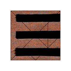Stainless Rust Texture Background Acrylic Tangram Puzzle (4  X 4 )