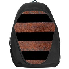Stainless Rust Texture Background Backpack Bag