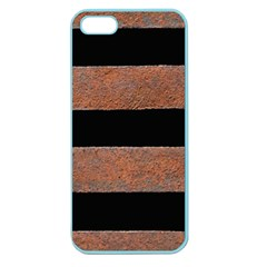 Stainless Rust Texture Background Apple Seamless Iphone 5 Case (color)