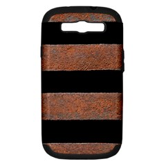 Stainless Rust Texture Background Samsung Galaxy S Iii Hardshell Case (pc+silicone)
