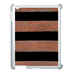 Stainless Rust Texture Background Apple Ipad 3/4 Case (white)