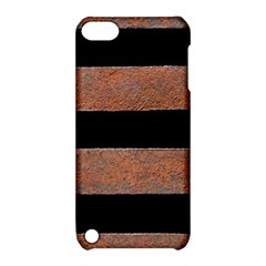 Stainless Rust Texture Background Apple Ipod Touch 5 Hardshell Case With Stand