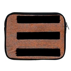 Stainless Rust Texture Background Apple Ipad 2/3/4 Zipper Cases