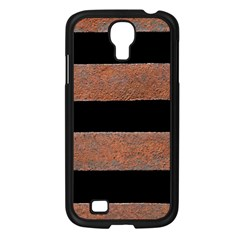 Stainless Rust Texture Background Samsung Galaxy S4 I9500/ I9505 Case (black)