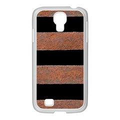 Stainless Rust Texture Background Samsung Galaxy S4 I9500/ I9505 Case (white)