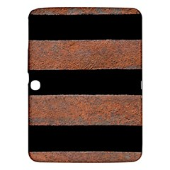 Stainless Rust Texture Background Samsung Galaxy Tab 3 (10 1 ) P5200 Hardshell Case