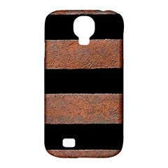 Stainless Rust Texture Background Samsung Galaxy S4 Classic Hardshell Case (pc+silicone)