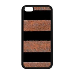 Stainless Rust Texture Background Apple Iphone 5c Seamless Case (black)