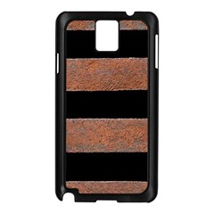 Stainless Rust Texture Background Samsung Galaxy Note 3 N9005 Case (black)