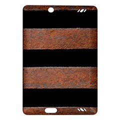 Stainless Rust Texture Background Amazon Kindle Fire Hd (2013) Hardshell Case