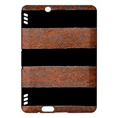 Stainless Rust Texture Background Kindle Fire Hdx Hardshell Case