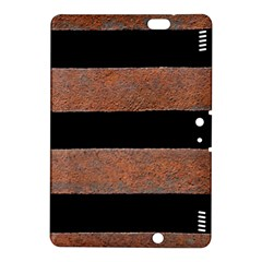 Stainless Rust Texture Background Kindle Fire HDX 8.9  Hardshell Case