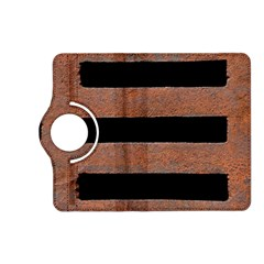 Stainless Rust Texture Background Kindle Fire Hd (2013) Flip 360 Case