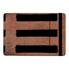 Stainless Rust Texture Background Samsung Galaxy Tab Pro 10 1  Flip Case