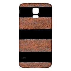 Stainless Rust Texture Background Samsung Galaxy S5 Back Case (white)