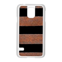 Stainless Rust Texture Background Samsung Galaxy S5 Case (white)