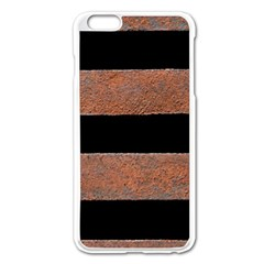 Stainless Rust Texture Background Apple Iphone 6 Plus/6s Plus Enamel White Case
