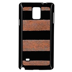 Stainless Rust Texture Background Samsung Galaxy Note 4 Case (black)