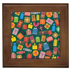 Presents Gifts Background Colorful Framed Tiles