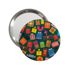 Presents Gifts Background Colorful 2 25  Handbag Mirrors