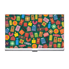 Presents Gifts Background Colorful Business Card Holders