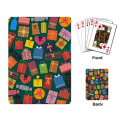 Presents Gifts Background Colorful Playing Card