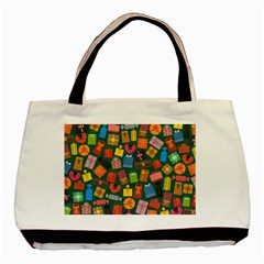 Presents Gifts Background Colorful Basic Tote Bag