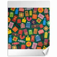 Presents Gifts Background Colorful Canvas 36  X 48