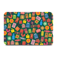 Presents Gifts Background Colorful Plate Mats