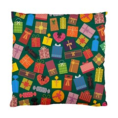 Presents Gifts Background Colorful Standard Cushion Case (Two Sides)