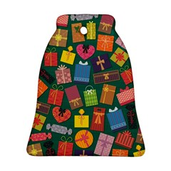 Presents Gifts Background Colorful Ornament (bell)
