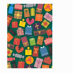 Presents Gifts Background Colorful Large Garden Flag (two Sides)