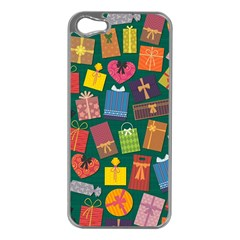 Presents Gifts Background Colorful Apple Iphone 5 Case (silver)