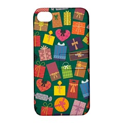 Presents Gifts Background Colorful Apple Iphone 4/4s Hardshell Case With Stand