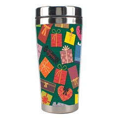 Presents Gifts Background Colorful Stainless Steel Travel Tumblers