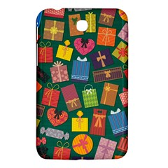 Presents Gifts Background Colorful Samsung Galaxy Tab 3 (7 ) P3200 Hardshell Case