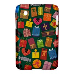 Presents Gifts Background Colorful Samsung Galaxy Tab 2 (7 ) P3100 Hardshell Case