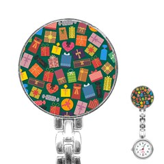Presents Gifts Background Colorful Stainless Steel Nurses Watch