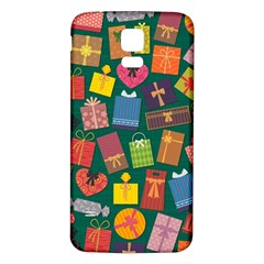 Presents Gifts Background Colorful Samsung Galaxy S5 Back Case (white)