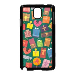 Presents Gifts Background Colorful Samsung Galaxy Note 3 Neo Hardshell Case (black)