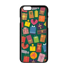 Presents Gifts Background Colorful Apple Iphone 6/6s Black Enamel Case
