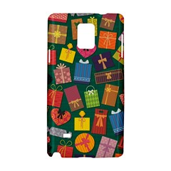 Presents Gifts Background Colorful Samsung Galaxy Note 4 Hardshell Case