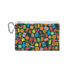 Presents Gifts Background Colorful Canvas Cosmetic Bag (s)