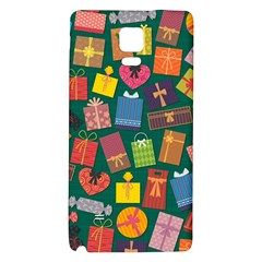 Presents Gifts Background Colorful Galaxy Note 4 Back Case