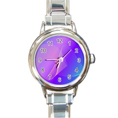 Vector Blend Screen Saver Colorful Round Italian Charm Watch