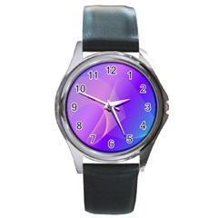 Vector Blend Screen Saver Colorful Round Metal Watch